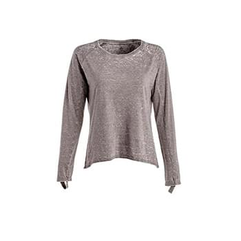 Ladies' Zen Jersey Hi-Low Long-Sleeve T-Shirt