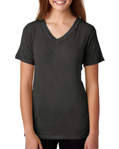 Ladies' Oasis Wash V-Neck T-Shirt