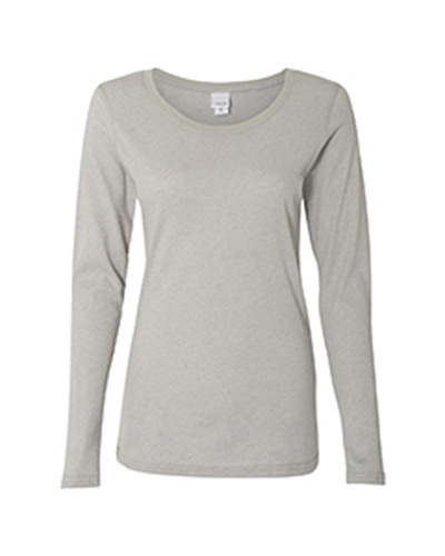 Ladies' Glitter Long-Sleeve T-Shirt