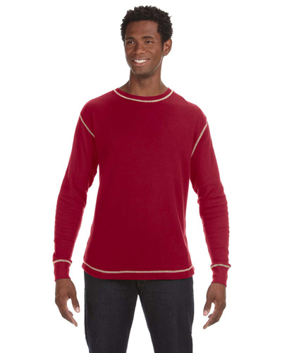 Men's Vintage Long-Sleeve Thermal T-Shirt