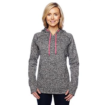 Ladies' Cosmic Contrast Fleece Hooded Sweatshirt