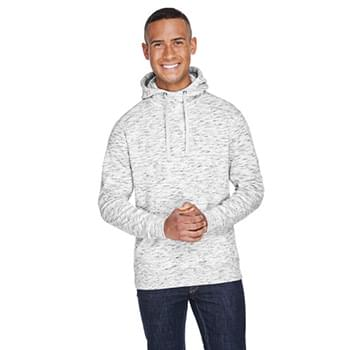 Adult Melange Fleece Pullover Hooded Sweatshirt