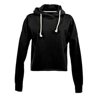 Ladies' Lounge Fleece Hi-Low Hoodie