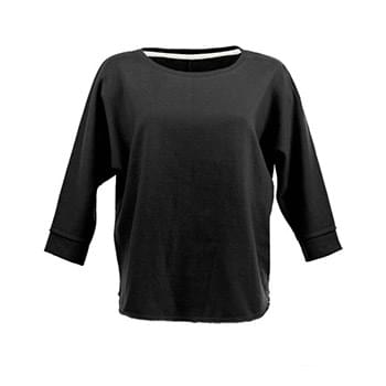 Ladies' Lounge Fleece Dolman Crew