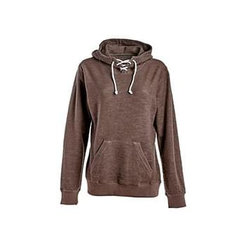 Ladies' Sport Lace Scuba Hooded Sweatshirt