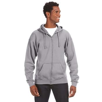 Adult Premium Full-Zip Fleece Hooded Sweatshirt