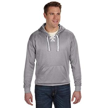 Adult Sport Lace Poly Hooded Sweatshirt