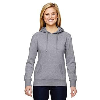 Ladies' Glitter French Terry Hooded Sweatshirt
