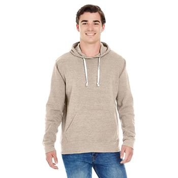 Adult Triblend Pullover Fleece Hooded Sweatshirt