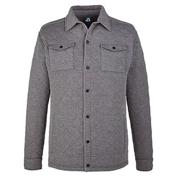 Adult Quilted Jersey Shirt Jacket