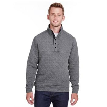 Adult Quilted Snap Pullover