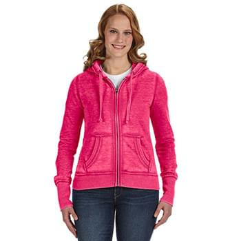 Ladies' Zen Full-Zip Fleece Hooded Sweatshirt