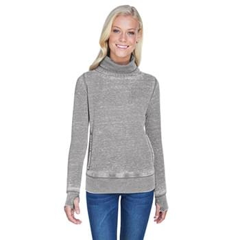 Ladies' Zen Fleece Cowl Neck