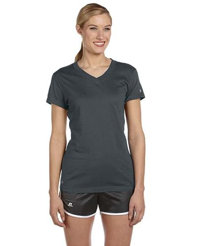 Ladies' Dri-Power V-Neck T-Shirt