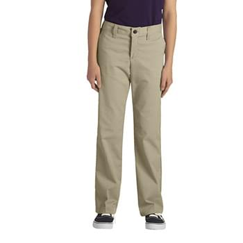 Girl's FlexWaist Classic Fit Straight-Leg Twill Stretch Pant