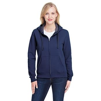 Ladies' 7.2 oz. Sofspun Full-Zip Hooded Sweatshirt
