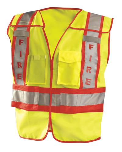 Men's Premium Solid Public Safety Fire Vest