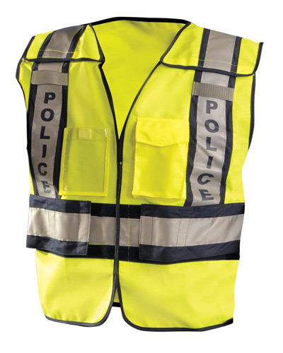 Men's Premium Solid Public Safety Police Vest