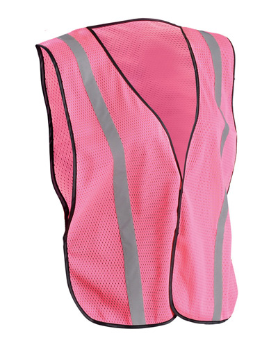 Men's Ladies' Value Silver Bead Mesh Vest