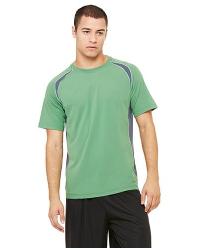 Unisex Colorblocked Short-Sleeve T-Shirt