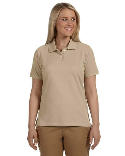 Ladies' 6.5 oz. Ringspun Cotton Piqu Short-Sleeve Polo
