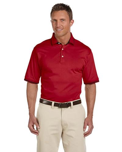 Men's 5.9 oz. Cotton Jersey Short-Sleeve Polo with Tipping