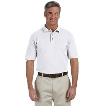 Men's Tall 6 oz. Ringspun Cotton Piqu Short-Sleeve Polo