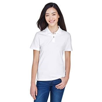 Ladies' 6 oz. Ringspun Cotton Piqu Short-Sleeve Polo