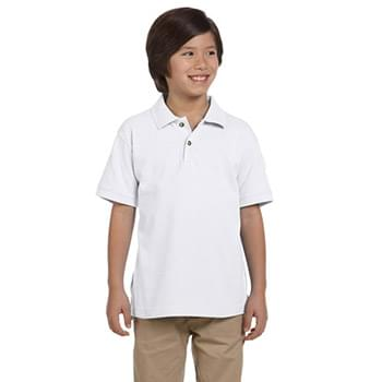 Youth 6 oz. Ringspun Cotton Piqu Short-Sleeve Polo