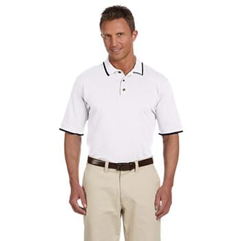 Adult 6 oz. Short-Sleeve Piqu Polo with Tipping