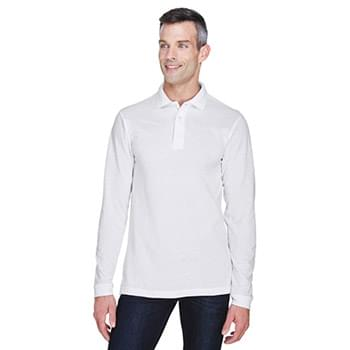 Men's 5.6 oz. Easy Blend? Long-Sleeve Polo