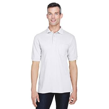 Men's 5.6 oz. Easy Blend? Polo with?Pocket
