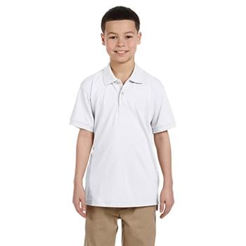 Youth 5.6 oz. Easy Blend Polo