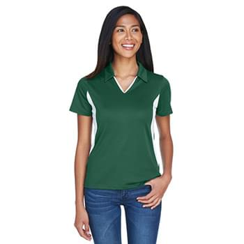 Ladies' Side Blocked Micro-Piqu? Polo
