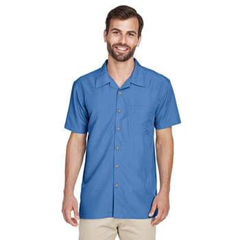 Men's Barbados Textured CampShirt