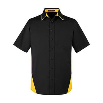 Men's Tall Flash IL Colorblock Short Sleeve Shirt