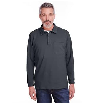 Adult StainBloc? Pique Fleece Pullover Jacket