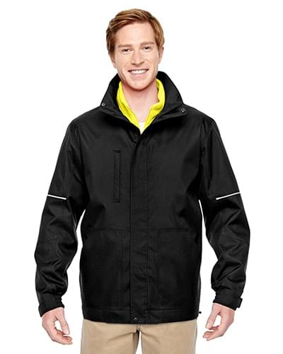 Adult Contract 3-in-1 Jacket with Daytime Hi-Vis Fleece Vest