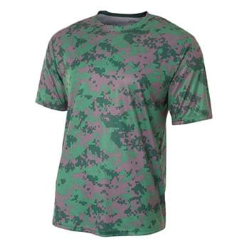 Men's Camo Performance Crew T-Shirt