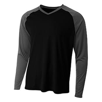 Men's Long Sleeve Strike Raglan T-Shirt