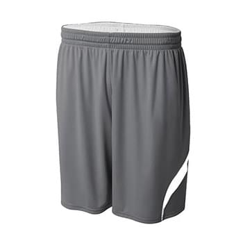 Adult Performance Doubl/Double Reversible Basketball Short