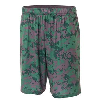 "Youth 8"" Inseam Printed Camo Performance Shorts"