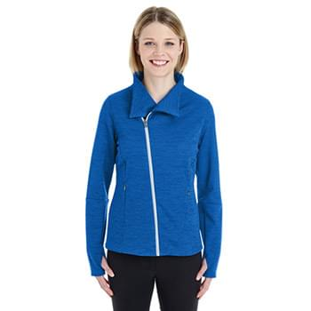 Ladies' Amplify Mlange Fleece Jacket