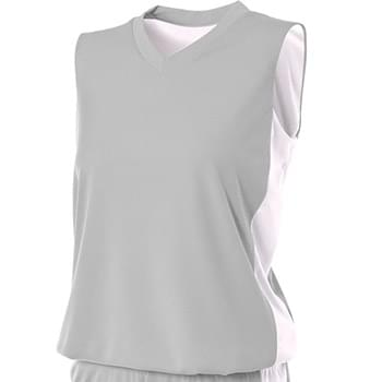 Ladies' Reversible Moisture Management Muscle Shirt