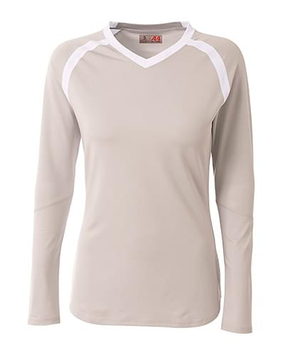 Ladies' Ace Long Sleeve Volleyball Jersey