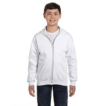 Youth 7.8 oz. EcoSmart? 50/50 Full-Zip Hood