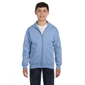Youth 7.8 oz. EcoSmart 50/50 Full-Zip Hood