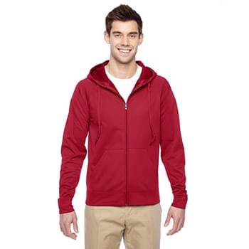 Adult 6 oz. DRI-POWER SPORT Full-Zip Hooded Sweatshirt