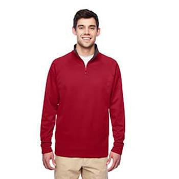 Adult 6 oz. DRI-POWER SPORT Quarter-Zip Cadet Collar Sweatshirt