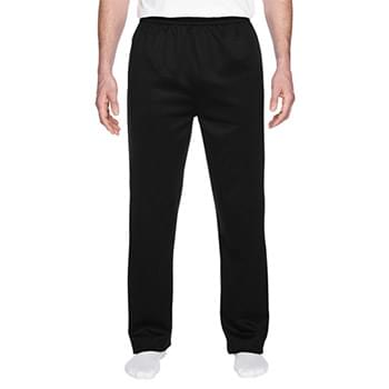 Adult 6 oz. DRI-POWER SPORT Pocketed Open-Bottom Sweatpant